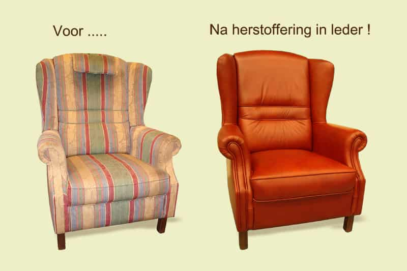 Herstoffering stoel (stof)