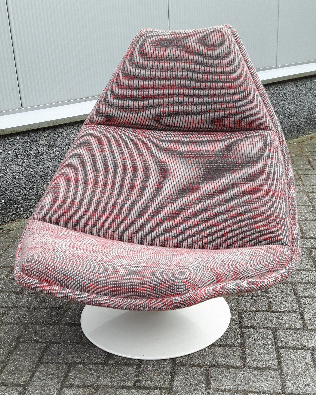 Artifort F-510 fauteuil in Ploegstof